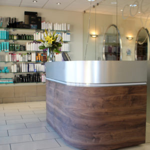 Maidenbower, Crawley Hair Salon Reception