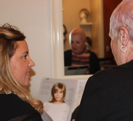 Wigs and hair loss at Crawley hair salon