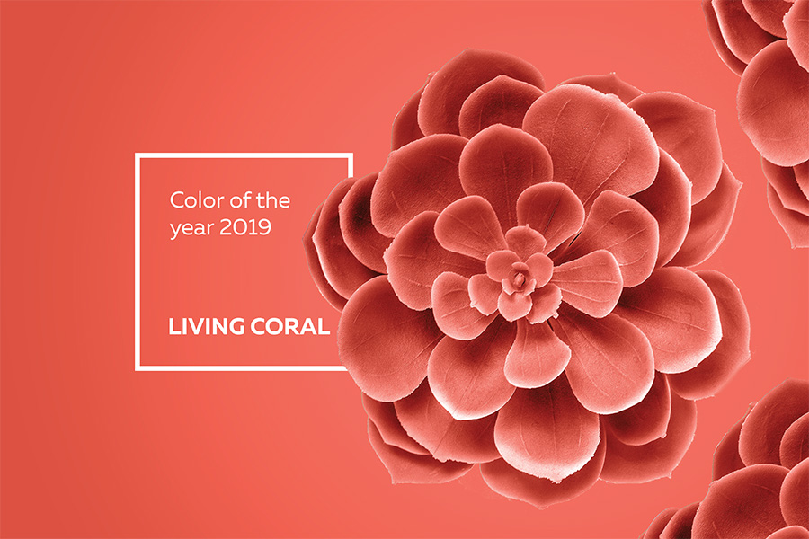 colour of the year living coral. Black Bedroom Furniture Sets. Home Design Ideas