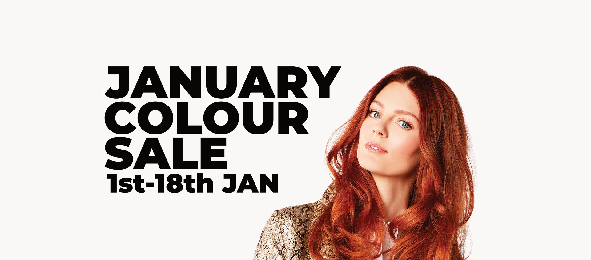 January Colour Sale