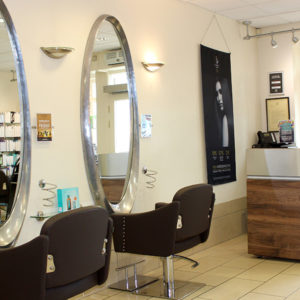Southwater hairdressers reception