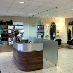 Coco's Style Hair & Beauty Salon Crawley Reception and Seats
